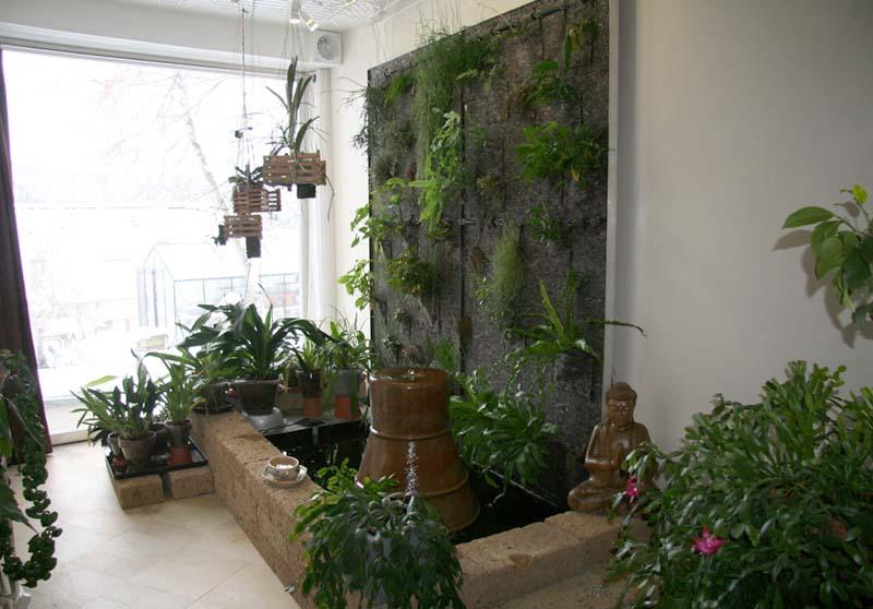 le mur vgtal en dcembre 2010 - Fabriquer Un Mur Vegetal Interieur